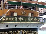 Napoli - Approdata nel porto la nave scuola ''Amerigo Vespucci'' (25.06.13)