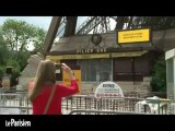 La grève de la Tour Eiffel chagrine les touristes