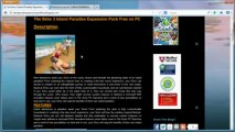 How to Install The Sims 3 Island Paradise Expansion Pack Free on PC!!