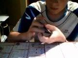 Tour de magie avec des cartes , la carte fantome et explication !