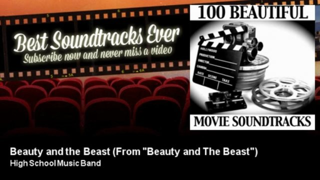 """High School Music Band - Beauty and the Beast - From """"Beauty and The Beast"""""""