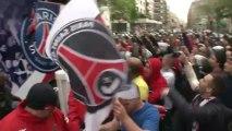 Violents incidents Trocadero Champs Elysées PSG / Paris 13 mai 2013 ©Line Press