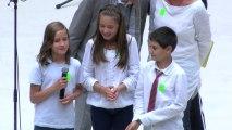 """Fête de la musique - Chorale d'école, école primaire """"Les Noyers"""" de Sucy en Brie"""