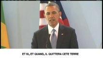 """Obama : """"Nelson Mandela est un héros pour le monde"""""""