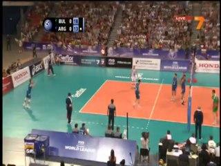 Bulgaria  - Argentina 22.06.2013 World League volleyball