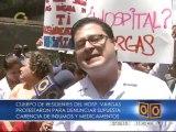 Médicos del Hospital Vargas protestaron por falta de insumos