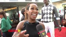 """Tichina Arnold Interview at KEVIN HART """"Let Me Explain"""" Movie Premiere Red Carpet in Los Angeles"""