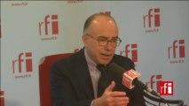 Bernard Cazeneuve, ministre délégué auprès du ministre de l'Economie et des Finances, chargé du Budget