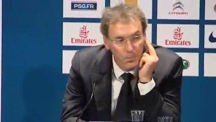 Laurent Blanc fait un doigt d'honneur ?