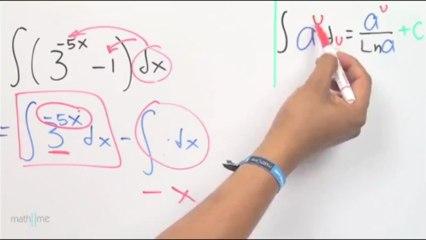 Integrar (1-3^5x)_3^5x