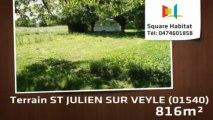 A vendre - Terrain - ST JULIEN SUR VEYLE (01540) - 816m²