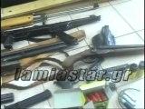 24χρονος με όπλα, αρχαία και ναρκωτικά στα χέρια των αστυνομικών.