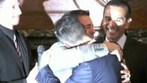 Gay marriage: California couples tie the knot