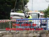 Suite : voiture dans le canal à Montceau-les-Mines :  un mort 29/06/13)