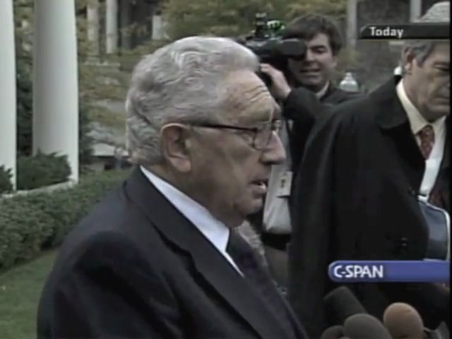 """Henry Kissinger And The 9/11 Commission - """"Conflict of Interests"""""""