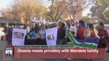 Nelson Mandela Breaking News: In South Africa, Obama Pays Tribute to Ill Mandela