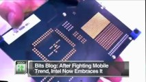 Latest Business News: Bits Blog: After Fighting Mobile Trend, Intel Now Embraces It