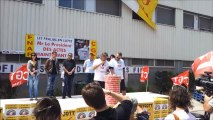 Carrefour des luttes à FRALIB, 28 Juin à Gémenos, Vidéo 1