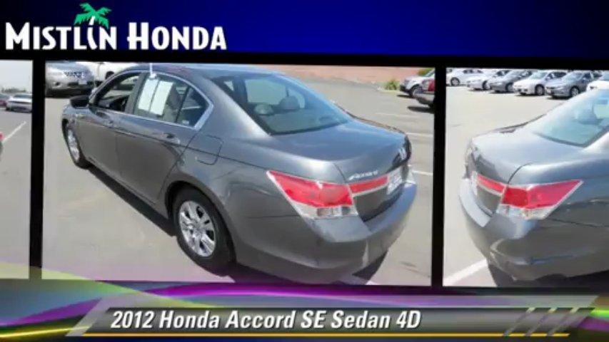 2012 Honda Accord SE – Mistlin Honda, Modesto