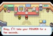 (hack) Pokémon Version Rouge Feu Omega [3] 1er Badge et évolution