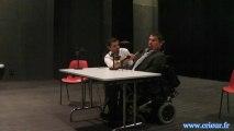 Le Prefet Parisot parle de l'accessibilité des personnes handicapées