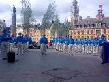 Lille Grand Place samedi 29 juin démonstration de FALUN DAFA dit aussi FALUN GONG