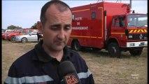 Feux de fôrets : 800 pompiers mobilisés (Hérault)
