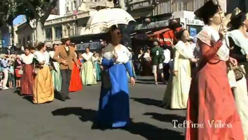 Extrait de la  fête du costume - Arles - 30 Juin 2013