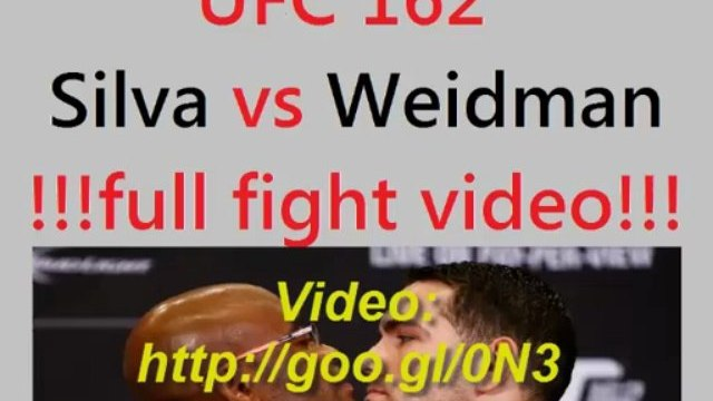 UFC 162 Anderson Silva vs Chris Weidman Full Fight Video