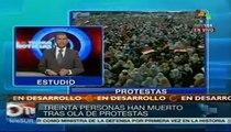 Al menos 30 muertos y más de mil heridos por enfrentamientos en Egipto