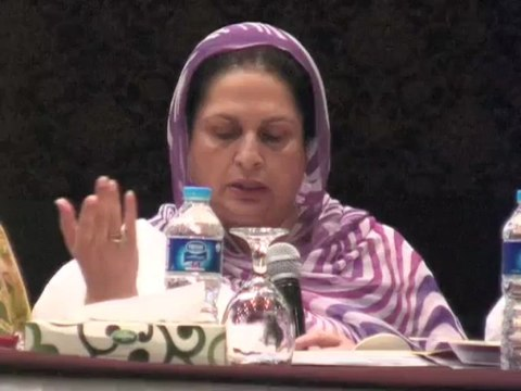 Launch of AAWAZ Voice of Accountability Program Lahore 30 June 2013