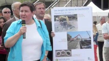Courbevoie ouvre ses berges de Seine aux riverains