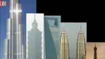 De la Tour Eiffel à la Burj Dubaï, voyage en hauteur