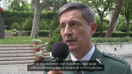 Entretien avec le Général de brigade de la Guarde civile espagnole, José CUASANTE - Madrid (01.07.13)