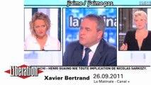 Face à Servier, Xavier Bertrand n'est jamais à court d'arguments
