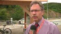 Pôle mécanique d'Alès : Albert de Monaco aux rencontres Internationales des voitures écologiques