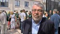 CRS : Manifestation des élus et policiers (Sables-d'Olonne)