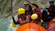 Rafting Castellane, n'oubliez pas de cocher en HD, par défault ça veux flouter le nez à pigeon :)
