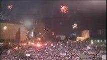 La place Tahrir en liesse après la destitution du président Morsi