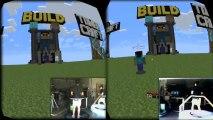 Virtuix Omni + Oculus Rift - Minecraft Multiplayer Gameplay