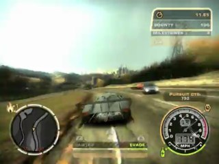 Needs For Speed: Most Wanted(2005) - Max Speed MOD Run, Pagani] - 171 mph!