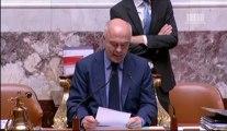 Matthias Fekl s'exprime en séance pour le non-cumul des mandats