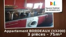 A vendre - Appartement - BORDEAUX (33200) - 3 pièces - 75m²