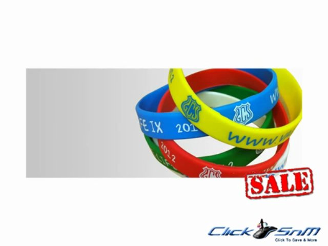 Get Wristband Discount Coupons to save more on Wristbands and Accessories