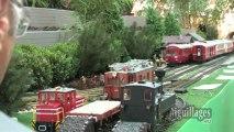 Le réseau en G de l'Association des Modélistes Ferroviaires du Bassin Chambérien
