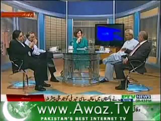 Tajzia Huma Baqai k Sath on PTV News – 7th July 2013