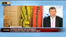 Chronique éco de Nicolas Doze: La Poste, preuve de la réussite du business et du service public - 05/07
