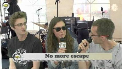 Talent sur Scène 2013 - Interview No More Escape - ASV TV