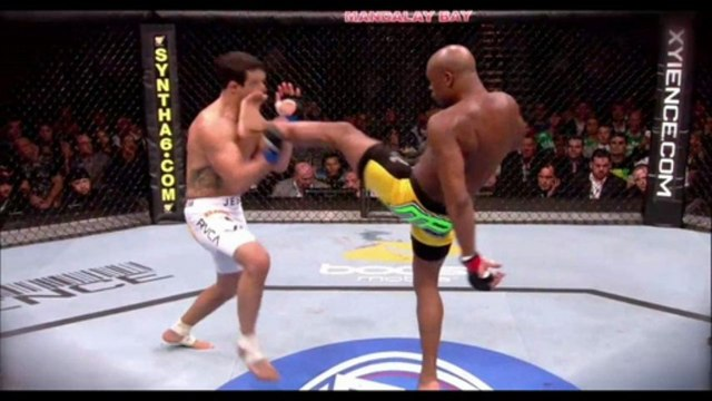 Watch Anderson Silva vs. Chris Weidman Highlights 07-06-2013