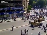 Group Of Morsi Supporter Attack Egyptian Soldiers